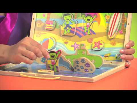 PBS KIDS Toys | Explore the Beach: Take-Along Puzzle Playset