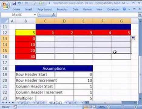 YouTubersLoveExcel#37: Formula Input Efficiency