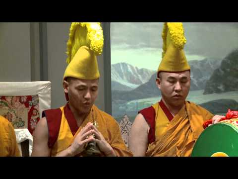Sand Mandala Ceremony with Drepung Loseling Monks