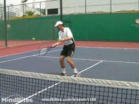 Tennis Volley Lesson For Beginners