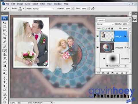Reusable wedding templates - Photoshop/Photography Week 15