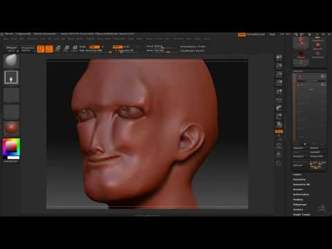 Zbrush Time lapse - Unstable Able