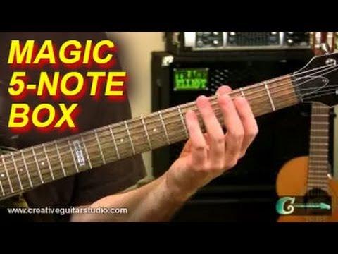 RHYTHM GUITAR: Unlocking the Secrets of the Magic 5-Note Box