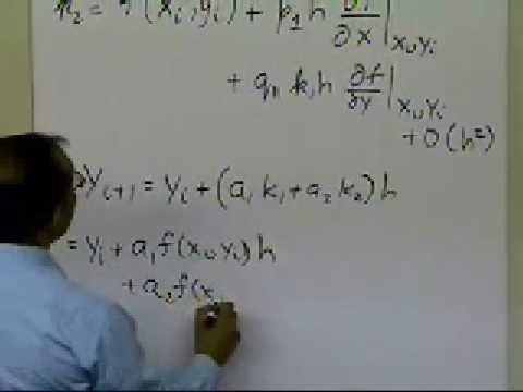 Runge Kutta 2nd Order Method Derivation: Part 2 of 2