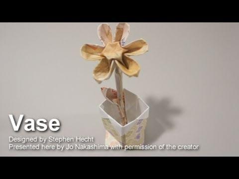 Origami Vase (Stephen Hecht)