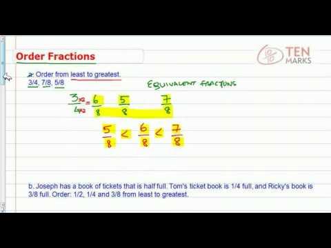 Order Fractions