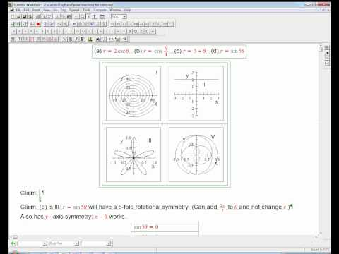 polar graph matching example