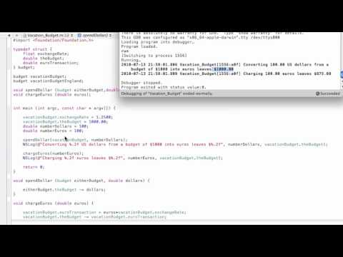 Objective-C Tutorial - Lesson 13: Part 1: Extending Your Program