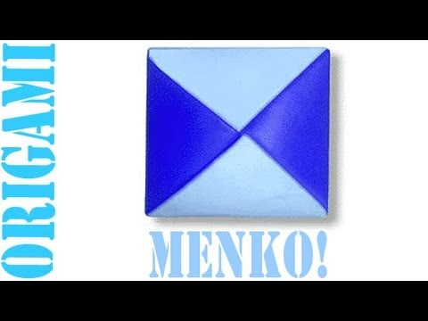 Origami Daily - 270: Menko (Spinning Top) - TCGames [HD]