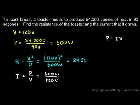 Physics 13.3.2b - Examples