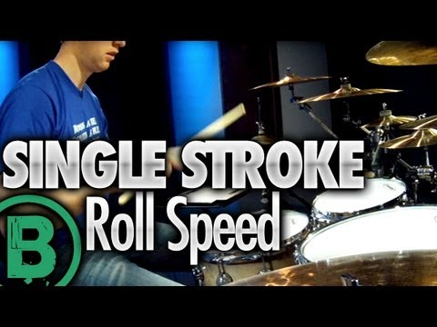 Single Stroke Roll Speed - Drum Rudiment Lessons