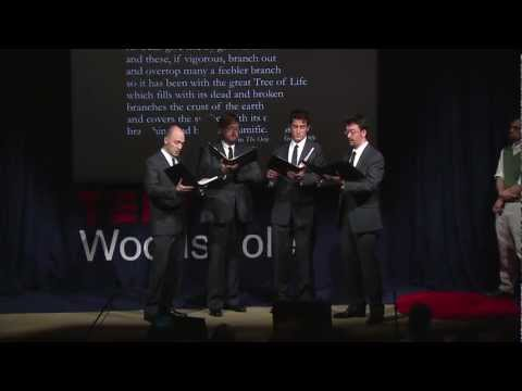 New York Polyphony - TEDxWoodsHole - Missa Charles Darwin: Evolution in Music