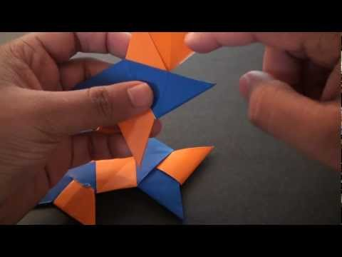 Origami Daily - 355: 8 Pointed Ninja Star (Frisbee) - TCGames [HD]