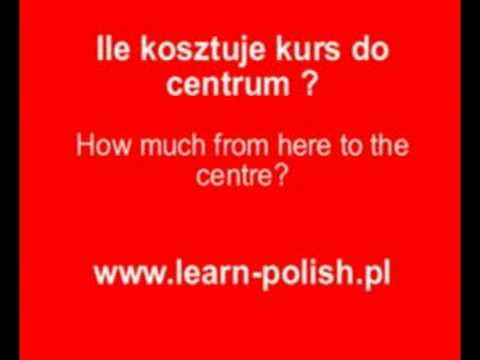 Useful Polish vocabulary