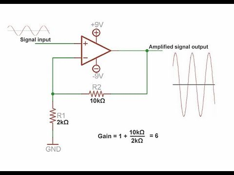 Operational Amplifier Tutorial & super microphone circuit