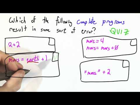 Syntax Vs Semantics Solution - CS262 Unit 5 - Udacity