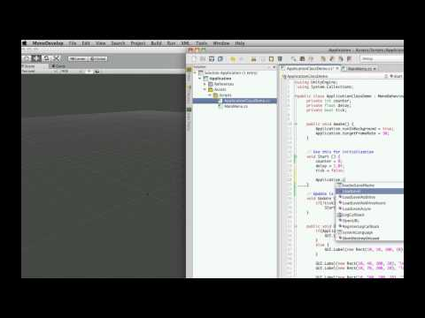 Unity3d Tutorial: Application Class Part 9 - LoadLevelAdditive