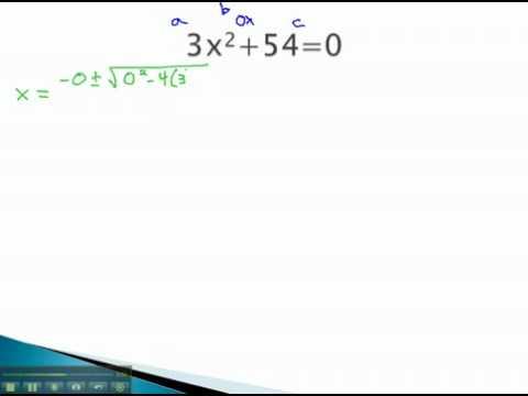 Quadratic Formula - b = 0 - YouTube.mp4