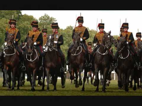 Royal Horse Artillery (Walk March)