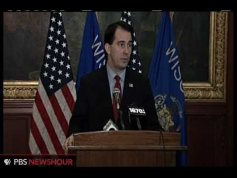 Wisconsin Gov. Scott Walker: 'We're Broke' (1 of 2)
