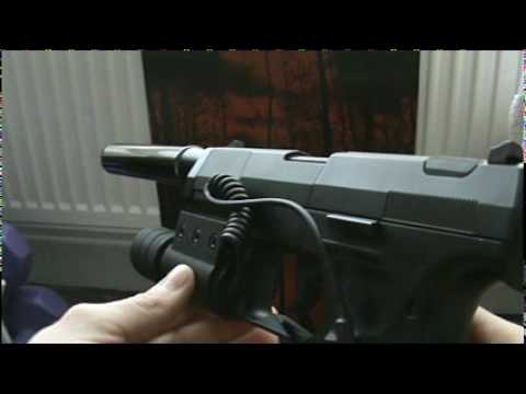 Walther CP99 Custom 'Resident Evil 4' CO2 Air Pistol Demo