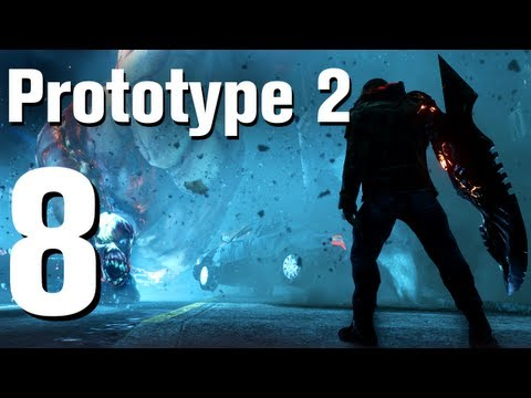 Prototype 2 Walkthrough Part 8 - Brain Drain [No Commentary / HD / Xbox 360]