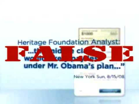 Setting the Record Straight on Obama's Tax Ad