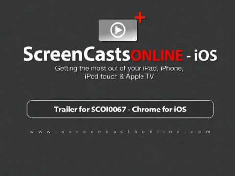 Trailer for SCOI0067 - Chrome for iOS