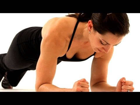 Upper Body Exercises   Boot Camp Workout for Women