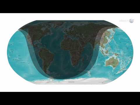 ScienceCasts: Partial Eclipse of the Strawberry Moon