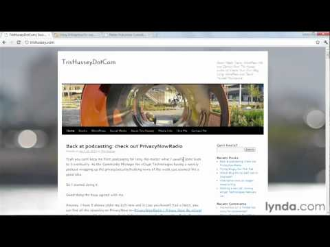 WordPress 3: Introducing parent and child themes | lynda.com