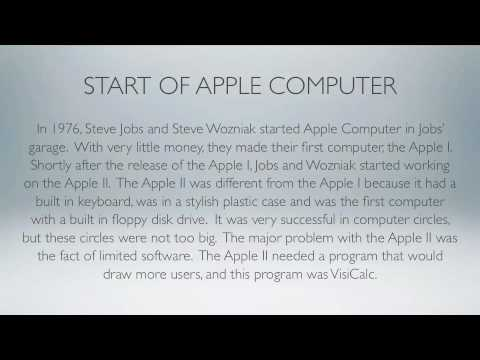 The Story of the Macintosh & Apple