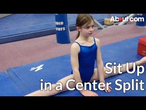 Quick Tip: How to Sit Up in a Center Split
