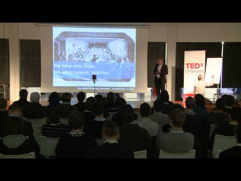 TEDxUHasselt - Tom Demeyer - The next generation challenge