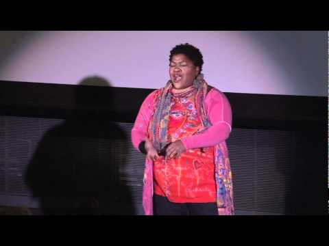 TEDxCambridge - Vanessa German's shooting star hands