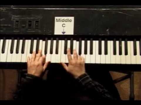 Piano Lesson - Kohler's Very Easiest Piano Studies #19