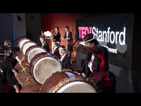 TEDxStanford - Taiko Drummers - Drumming across nations