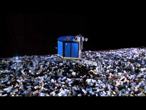 Using LEGO®  to simulate ESA's touchdown on a comet