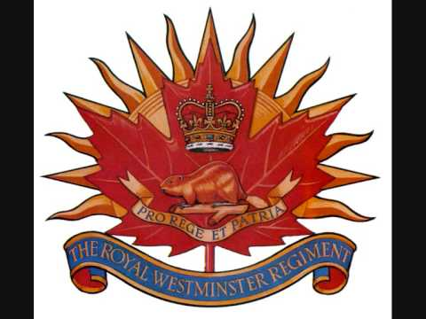 The Royal Westminster Regiment March