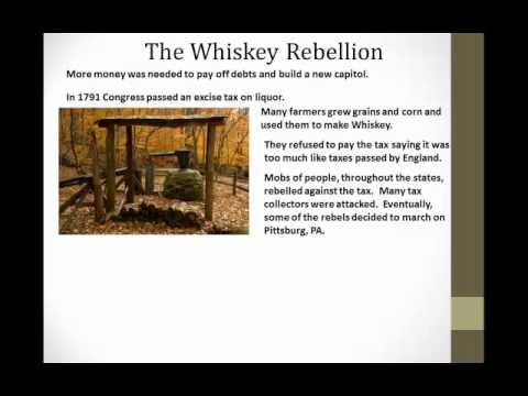 The Whiskey Rebellion 1791