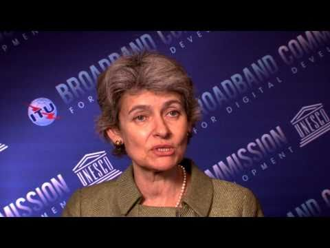UNESCO Director-General at the Broadband Commission for Digital Development in New York