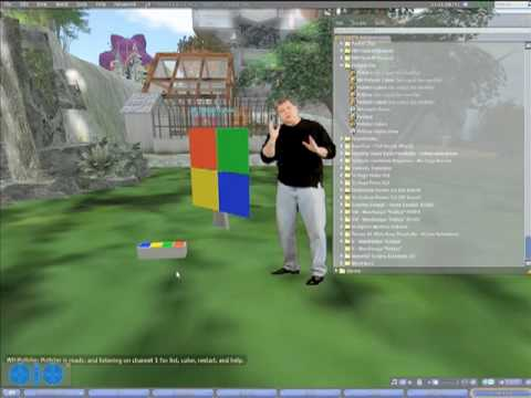 Second Life: How to Use Interactive Pollster Tool