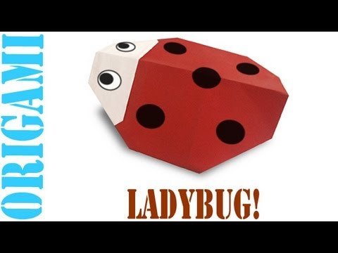 Origami Daily - 372: Lady Bug - TCGames [HD]