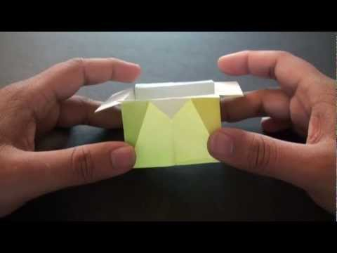Origami Daily - 301: Box With Flaps - TCGames [HD]