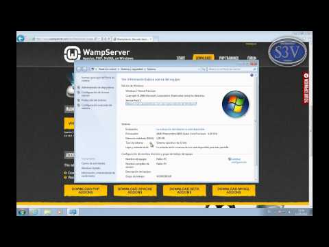 WAMP Server - Instalación en Windows 7