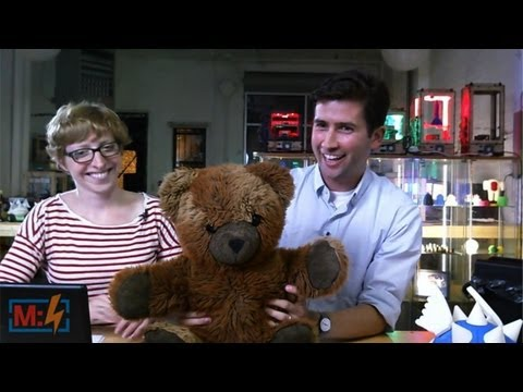 RFID Teddy Bear on Make: Live ep18