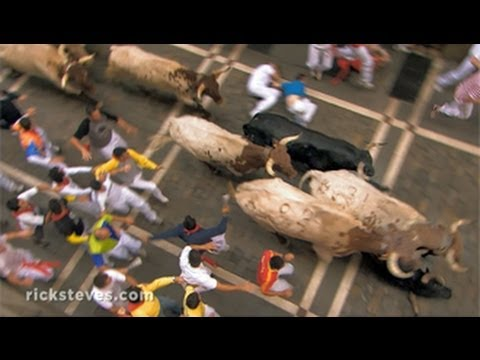Pamplona, Spain: Running of the Bulls