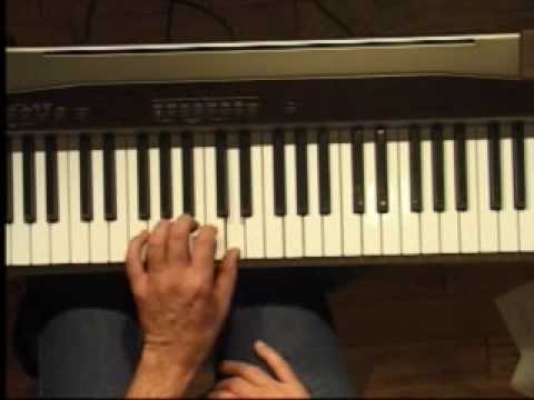 Piano Lesson - How to Play the G major scale (left hand)