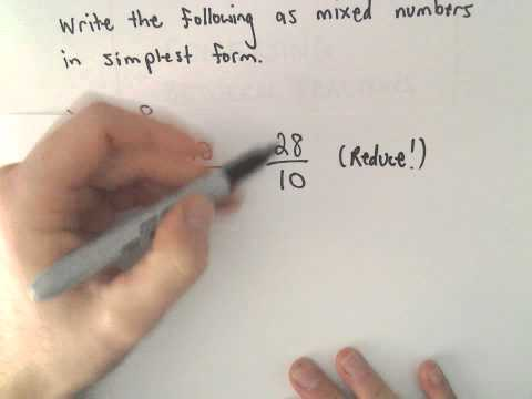 Writing a Decimal as a Fraction, Example 3