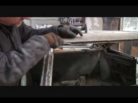 Rust Repair Made Easy-Car Roof Replacement-Part 2-Using An Air Grinder